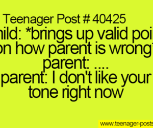 parents, tone, and scolding image