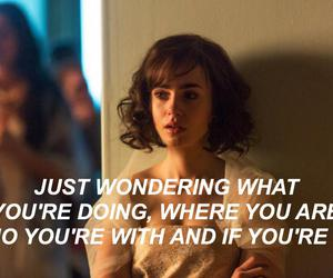 love rosie, lily collins, and quotes image