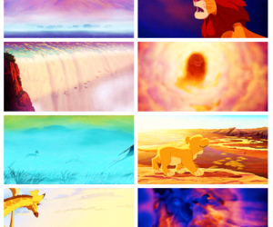 cartoon, disney, and lion king image