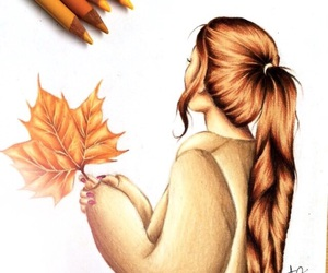 autumn, baby, and beautiful image