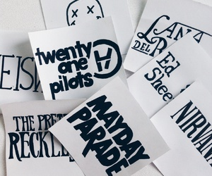 mayday parade, nirvana, and the pretty reckless image