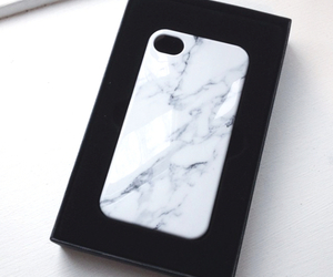 black and white, cases, and iphone image