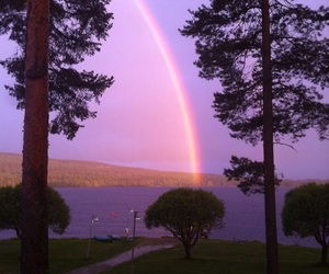 rainbow, colors, and nature image