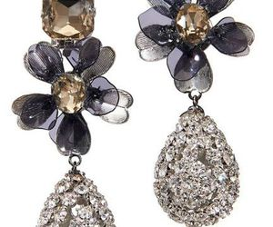 classy, diamonds, and earrings image