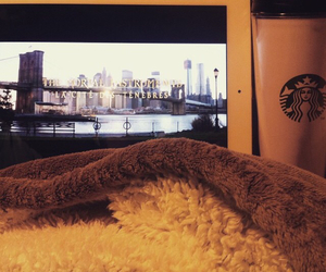 lazy day, winter, and hot chocolate image