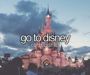 bucket, list, and disney image