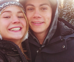 dylan o'brien, couple, and dylan image