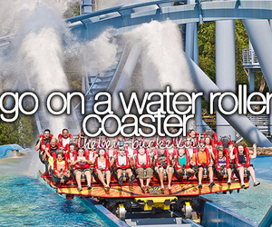 water, cool, and Roller Coaster image