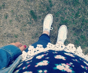 blue, converse, and girly image