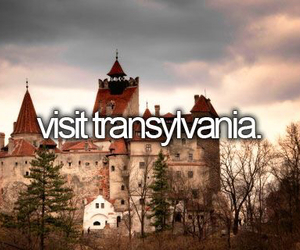 castle, Dracula, and transylvania image