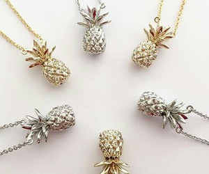 pineapple, accessories, and fashion image