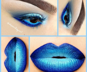 amazing, colorful, and eyeshadow image