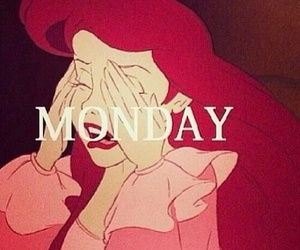 monday, ariel, and disney image