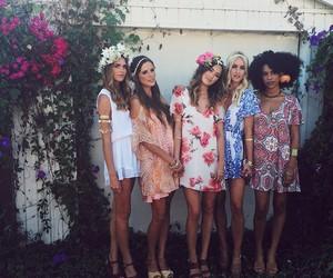 beauty, dress, and mode image