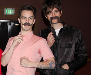 brendon urie, dallon weekes, and panic! at the disco image