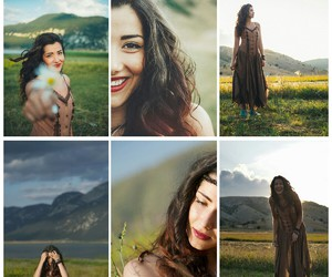 art photography, girl, and hippie image