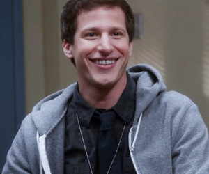 actor, smile, and andy samberg image