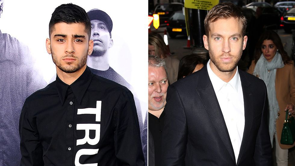 artists, calvin harris, and fight image