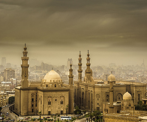 cairo, mosque, and egypt image