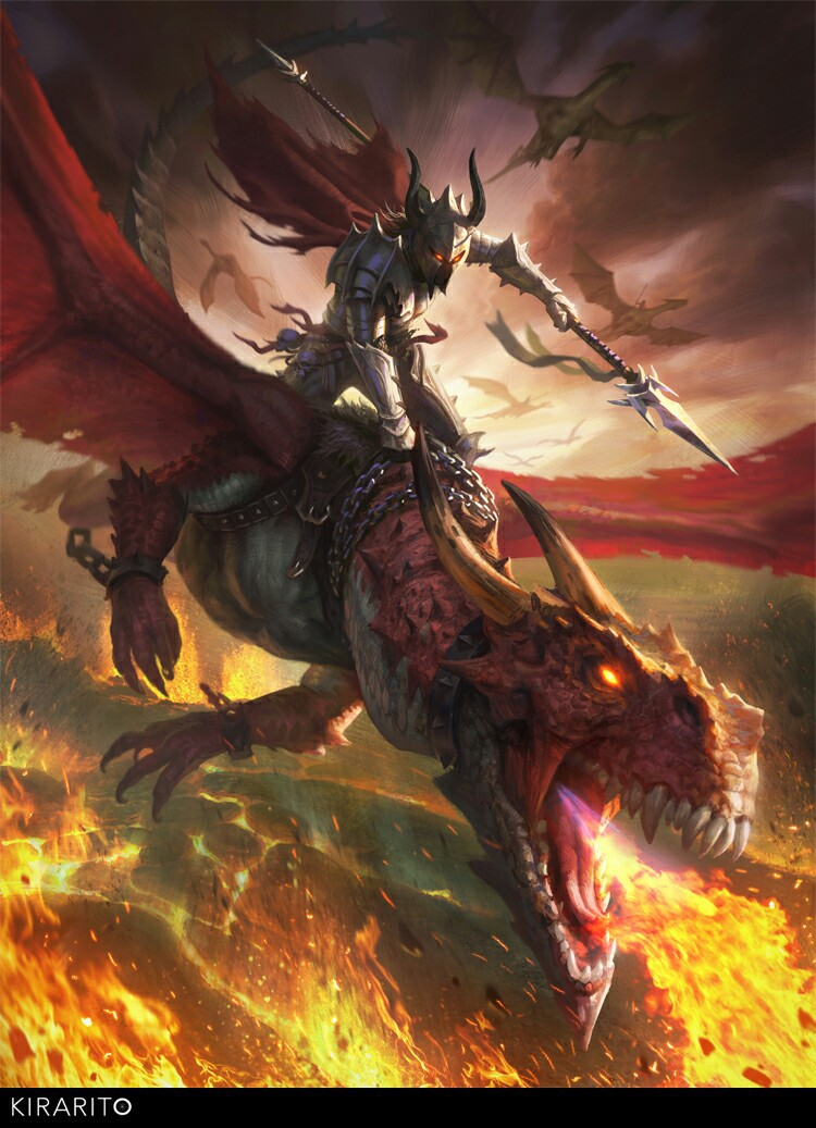 Dragon rider shared by Sparkler on We Heart It