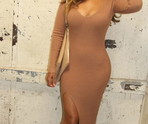 curly hair, queen bey, and dress image