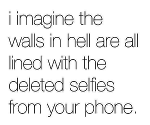 hell, life, and phone image