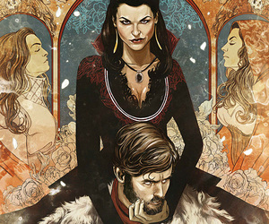 once upon a time, evil queen, and Marvel image