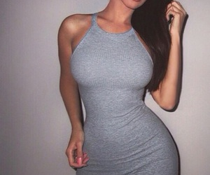dress, body, and grey image