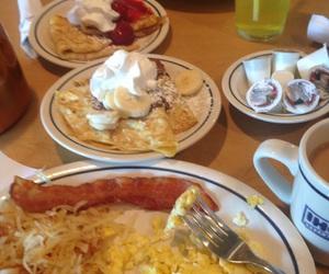 breakfast, crepes, and ihop image