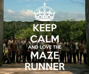 keep calm, the maze runner, and maze runner image