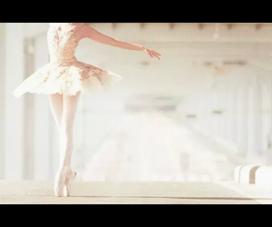 ballerina, girl, and white image
