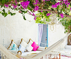 decoration, hammock, and inspiration image