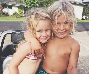 boy, girl, and summer image