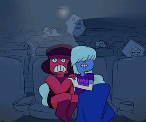 cartoon, ruby, and sapphire image