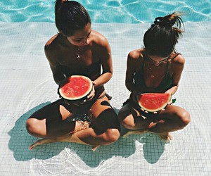 bikini, summer, and love image