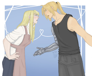digitalart, fanart, and fullmetal alchemist image