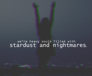 quote, nightmare, and grunge image