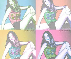 art, edit, and rainbow image