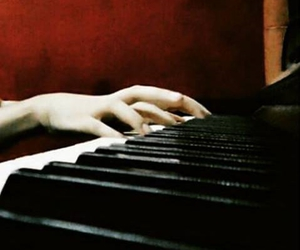chopin, music, and pianist image