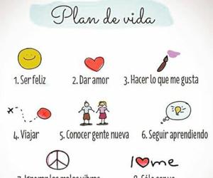 me amo, mi vida, and plan de vida image