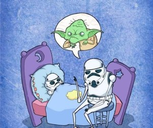 funny and star wars image