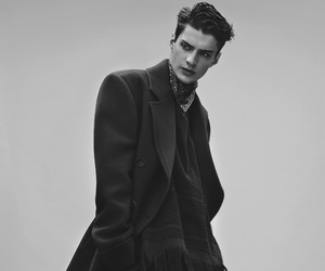 boy, model, and black and white image