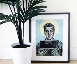 art, Elvis Presley, and home decor image