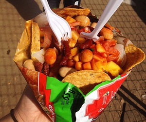 mexican, snacks, and tostilocos image
