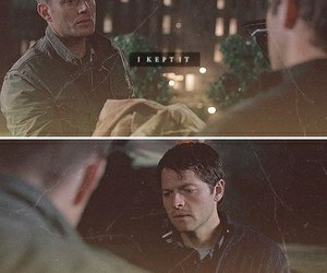 cloak, dean, and destiel image