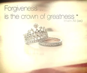 crown, forgiveness, and greatness image