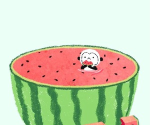 fruit and watermelon image