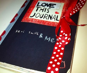 bow, cool, and journal image