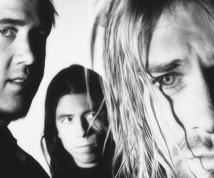 dave grohl, guys, and kurt cobain image