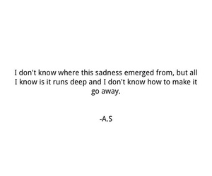 quotes, you, and sad image